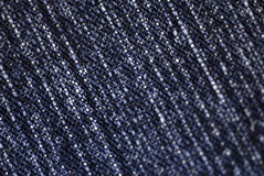 Jeans fabric Royalty Free Stock Images