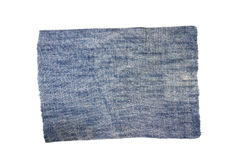 Jeans fabric Royalty Free Stock Photos