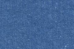 Jeans fabric. By close consideration Royalty Free Stock Image