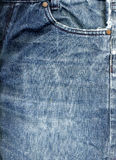 Jeans Fabric  Background Royalty Free Stock Photo