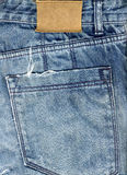 Jeans Fabric  Background Stock Image