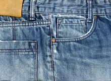 Jeans Fabric  Background Stock Photo
