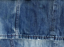 Jeans Fabric  Background Stock Images