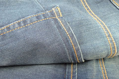 Jeans fabric Stock Photography