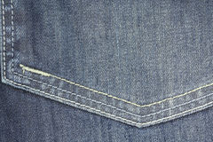 jeans fabric close up Royalty Free Stock Photography
