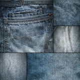 Jeans fabric Royalty Free Stock Photography