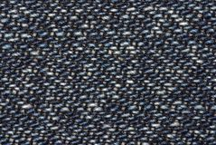 Jeans fabric (denim) Royalty Free Stock Images