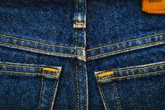Jeans, fabric, denim indigo Stock Images