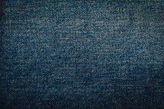 Jeans, fabric, denim indigo Stock Photography
