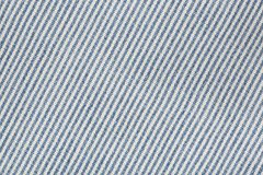 Jeans fabric with diagonal stripes Stock Images
