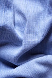 Jeans fabric with folds Royalty Free Stock Photo