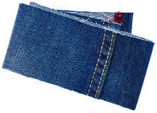 Jeans fabric from jeans pants Stock Photo