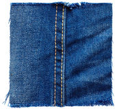 Jeans fabric from jeans pants Stock Photography