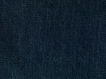 Jeans fabric texture close up Stock Images