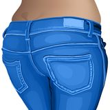 Jeans female jeans, girl, female, fashion, young, Stock Image