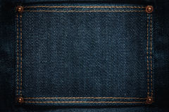 Jeans frame Royalty Free Stock Images