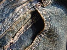 jeans front pocket Stock Photos