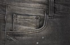 Jeans front pocket Stock Image