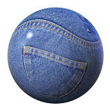 Jeans globe Royalty Free Stock Photo