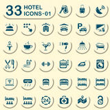 33 jeans hotel icons - 01 Stock Images