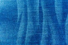 Jeans i blått Arkivfoton