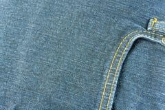 Jeans i blått Royaltyfria Bilder