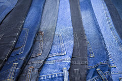 Jeans. The jeans that I have been wearing this years Royalty Free Stock Photography