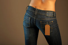 Jeans imaginations (sale) Stock Photography