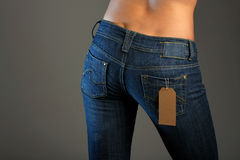Jeans imaginations (sale) Royalty Free Stock Photos