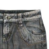 Jeans isolati Immagini Stock