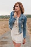 Jeans jacket Stock Photography