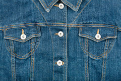 Jeans jacket Royalty Free Stock Photography