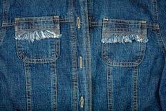 Jeans jacket Stock Image