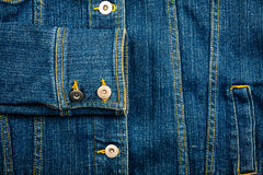 Jeans jacket Stock Images