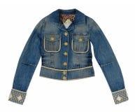 Jeans jacket Royalty Free Stock Image