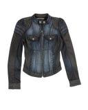 Jeans jacket. Isolated on white background Royalty Free Stock Photos