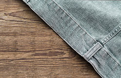 Jeans jacket Royalty Free Stock Photo