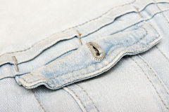 Jeans Jacket Pocket Stock Photos