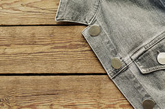 Jeans jacket Stock Photography