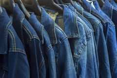 Jean Jackets Stock Image