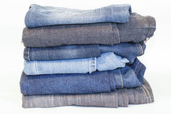 Jeans, jeans Stock Afbeelding