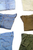 Jeans and Khakis Royalty Free Stock Image