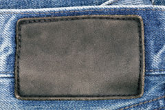 Jeans label Stock Image