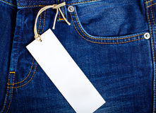 Jeans label Stock Photos