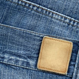Jeans label Royalty Free Stock Photos