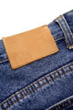 Jeans label Stock Photography