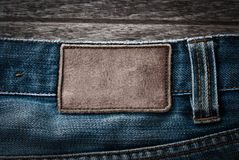 Jeans label Stock Images