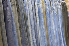 Jeans line Royalty Free Stock Photos