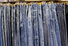 Jeans line Royalty Free Stock Image