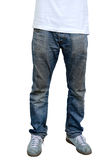 Jeans man Stock Photography